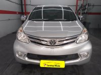Jual Toyota all New Avanza 1.3 G manual 2013 Silver metalik