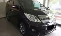 Jual toyota alphard 2012 S automatic