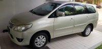 Jual Toyota Innova 2.0 G Bensin 2013 matic