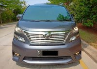 Jual Toyota Vellfire Z Audio Less 2011 2.4 AT