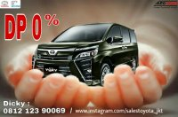 Jual Toyota Voxy 2.0 A/T 2018, DP 0%