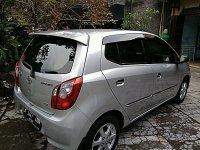 Jual Toyota Agya G Silver Metalik 2014/2015