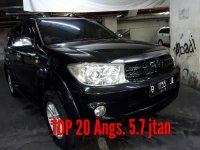 Jual Toyota Fortuner G SOLAR MANUAL 2009 Terawat