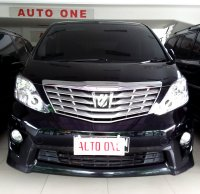 Jual Toyota Alphard Z Audioless 2.4 At