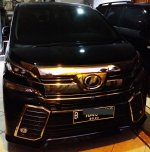 Jual Mobil Toyota Vellfire ZG Tahun 2015 Bensin 2500cc AT Automatic Mulus M