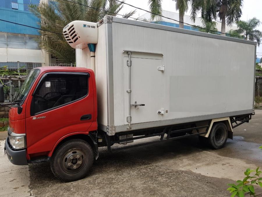 Toyota Dyna 130 Xt Box Freezer Long Chasis Tahun 2015 Mobilbekas Com