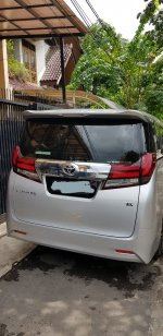 Jual Toyota Alphard 2.5G Tahun 2017