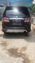 Jual Toyota Fortuner TRD Sportivo 2.5 G  Tahun 2013