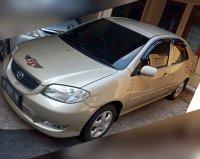 Jual Toyota vios 1.5 E MT 2003 Champagne / Gold