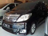 Jual Toyota New Alphard 2.4 Tahun 2012