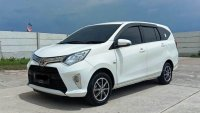Jual Toyota Calya G automatic 2017 putih