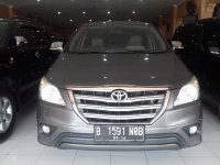 Jual Toyota Kijang Grand New Innova G Manual Tahun 2014