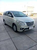 Jual Toyota kijang innova 2.0 G luxury 2014 silver