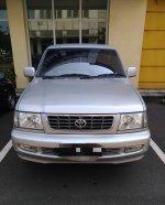 Toyota: Dijual Kijang LGX 1.8 M/T, Silver, Th.2000, KM. 130rb