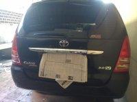 Toyota: Dijual Kijang Innova 2.0 V M/T, Hitam, Th.2007, KM. 60rb