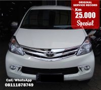 Jual TOYOTA AVANZA G MANUAL WHITE 2013 SPECIAL CONDITION, KM 23 RB.