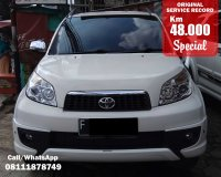 Jual TOYOTA RUSH TRD SPORTIVO MANUAL WHITE 2014 SPECIAL CONDITION, KM 48 RB