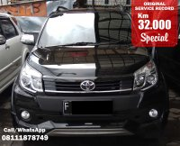 Jual TOYOTA RUSH TRD SPORTIVO MANUAL BLACK 2017 SPECIAL CONDITION, KM 32 RB