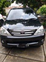 Jual Toyota Avanza G manual warna hitam