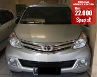 Jual TOYOTA AVANZA G MANUAL SILVER 2015 SPECIAL CONDITION, KM 22 RB.