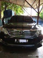 Jual Toyota Fortuner Disel  G A/T 2012. (Pribadi)