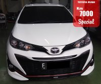 Jual TOYOTA YARIS NEW TRD AUTOMATIC WHITE 2018 SPECIAL CONDITION, KM 7000.