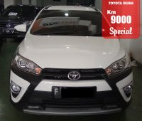 Jual TOYOTA YARIS HEYKRS AUTOMATIC WHITE 2017 SPECIAL CONDITION, KM 9000.