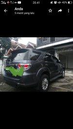 Jual Toyota Fortuner VNT Turbo Disel 2014