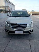 Jual Toyota kijang innova 2.0 G luxury 2014 silver matic km 43 rban