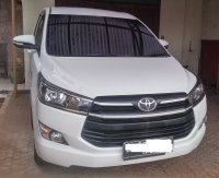 Jual Innova G 2016 Matic Putih Mulus Asuransi Record Service Toyota
