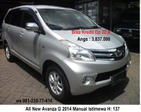 Jual Toyota: All New Avanza G 2014 Manual Istimewa Surabaya