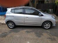 Toyota: Dijual Agya silver 2014 tangan pertama