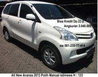 Jual Toyota: All New Avanza 2013 Manual Putih Istimewa Surabaya