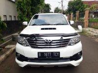 Jual Toyota Fortuner 2.5 G VNT TRD Diesel Autometic Thn.2013