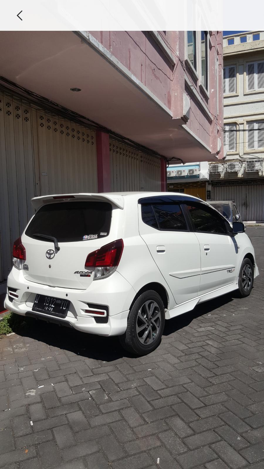 TER - Murah Tanpa Perantara Toyota Agya 1.2 TRD (Manual