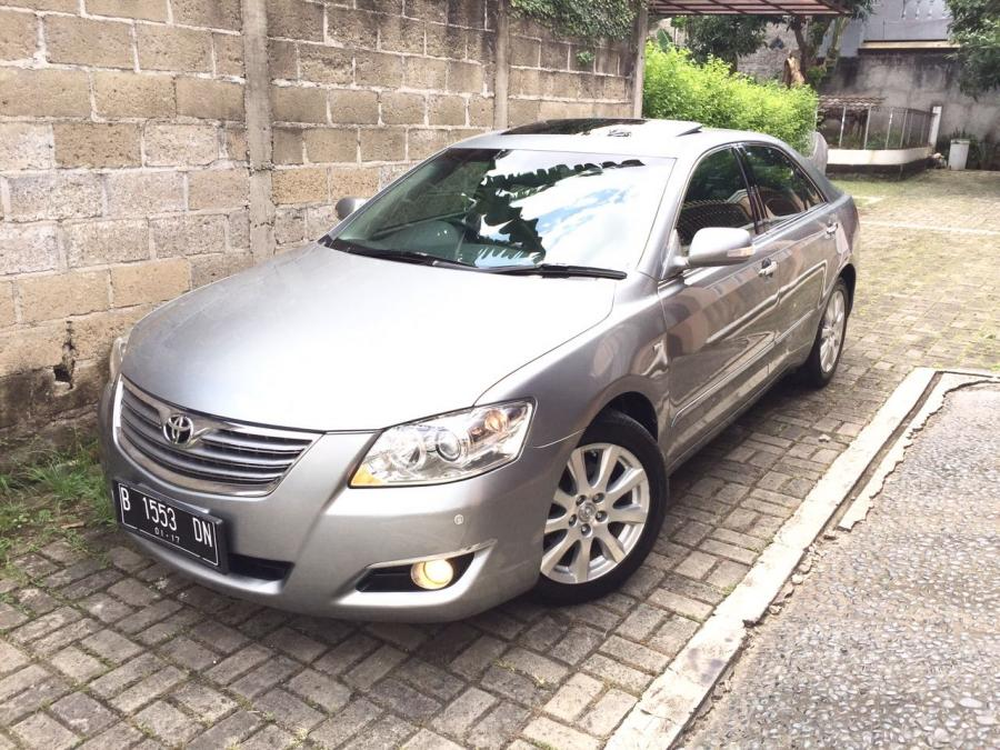 toyota camry 3 5 q 2006 2007 medium silver good condition. Black Bedroom Furniture Sets. Home Design Ideas