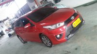 Jual toyota all new yaris g metik upgrade s trd 2015 merah