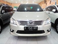 Jual Toyota: Grand Innova V Tahun 2013