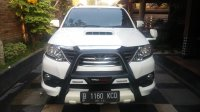 Jual Toyota Fortuner VNT TRD AT 2013 Istimewa Full original