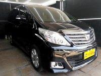 Jual Toyota ALphard 2.4 X AT 2012 Hitam
