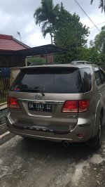 Jual Toyota: Mobil Fortuner thn 2005 Type G 2.7 A/T area Padang