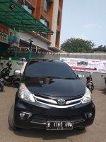 Jual Toyota New Avanza G  Manual 1.300 cc Tahun 2012 hitam