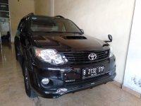 Jual Toyota Fortuner VNT TRD Matic 2014 Diesel DP 50jt