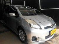 Toyota Yaris 1.5 E MT Manual 2012 Silver