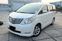 Jual 2010 Toyota Alphard Q premium Sound Good Conditions TDP 114 JT