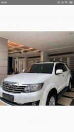 Jual Toyota Fortuner TRD 2012 2,5 G Diesel, Matic, Putih