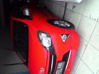 Jual Toyota agya matic 2015 trd s