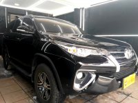 Jual Toyota Fortuner All New G 2.4 AT 2016 Hitam KM 17rb