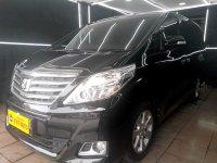 Jual Toyota Alphard 2.4 X ATPM AT 2014 Hitam