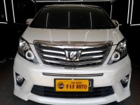 Jual Toyota Alphard 2.4 S AT Audioless 2012 Putih